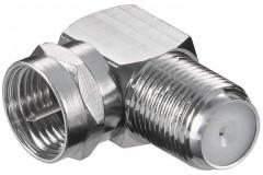 Winkel-Verbindung, F-Stecker-F-Kupplung