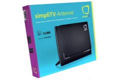 simpliTV Antenne DVB-T2 Antenne mit LTE Sperrfilter