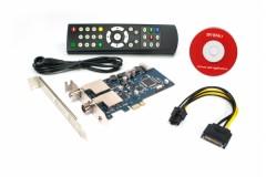 DVBSky PCIe DVB-S2 & DVB-C/T/T2 FTA (T9580) + CD