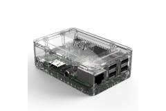 Gehäuse für Raspberry Pi 3, Pi 2 und B+ (19 Design), Farbe: transparent/clear