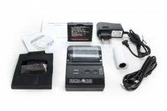 Bluetooth Bon Thermodrucker V2 (58mm Breite) mit Akku geeignet für Papierrolle: ø42 x 58mm inkl. Gürteltragetasche