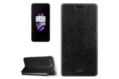 OnePlus 5 Schutzhülle Flip Cover (Farbe: schwarz / black)
