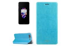 OnePlus 5 Schutzhülle Flip Cover (Farbe: blau / blue)