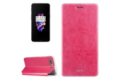 OnePlus 5 Schutzhülle Flip Cover (Farbe: pink)