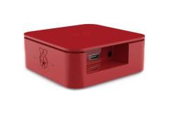 Gehäuse<br /> Mini-PC Gehäuse Quattro für Raspberry Pi 2, Pi 3, Pi B+, Farbe: rot