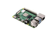 Raspberry Pi 4 Model B 2GB (umverpackt), inkl. Type-C Adapter