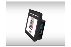 Gehäuse für Raspberry Pi 4 Model B slide case 2-teilig, Farbe: transparent/clear