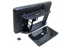 Touchscreen Gehäuse für Raspberry Pi 4, Farbe: black / schwarz