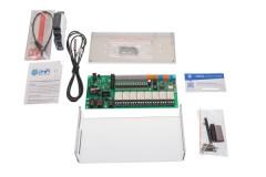 UniPi v1.1 Complete Set (ohne Raspberry Pi)<br /> (UniPi + Netzeil für DIN-Schiene mit Adapterkabel + DIN-Schiene Halterung für UniPi + UniPi Schutzabdeckung + 1-Wire-Thermometer + Mervis Lizenz)
